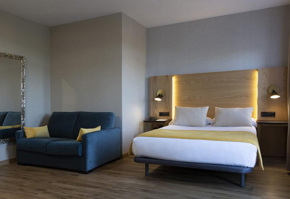 Habitación Doble con sofa cama